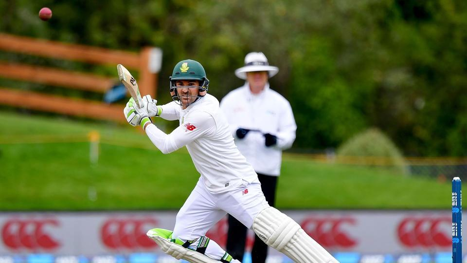 Dean Elgar slammed 89 and he was ably supported by a fifty from South Africa skipper Faf du Plessis as the Proteas stretched their lead to 191 at the end of day 4 of the first Test against New Zealand.