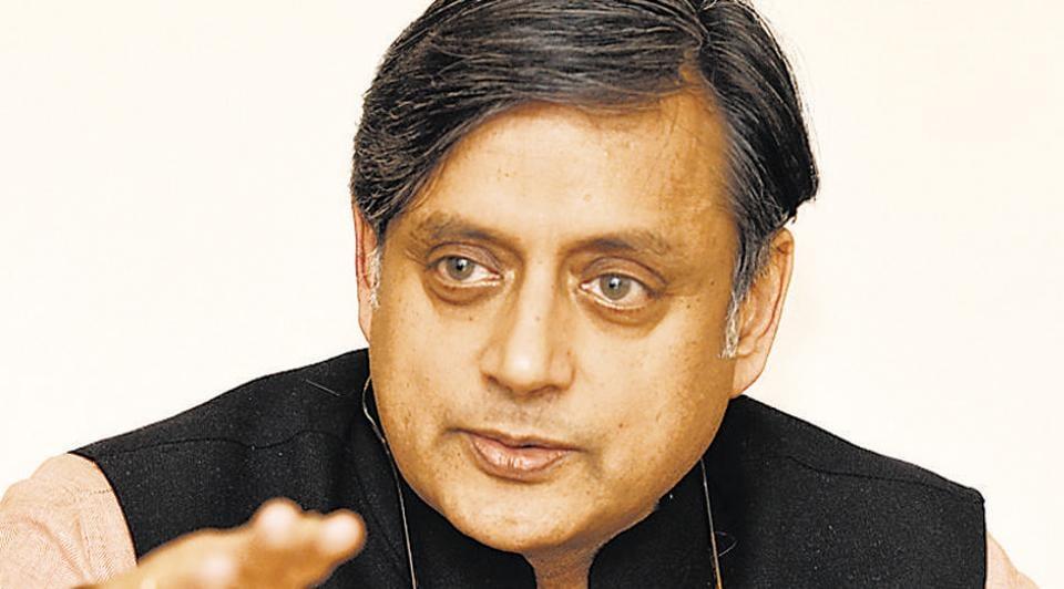 Congress MP Shashi Tharoor.