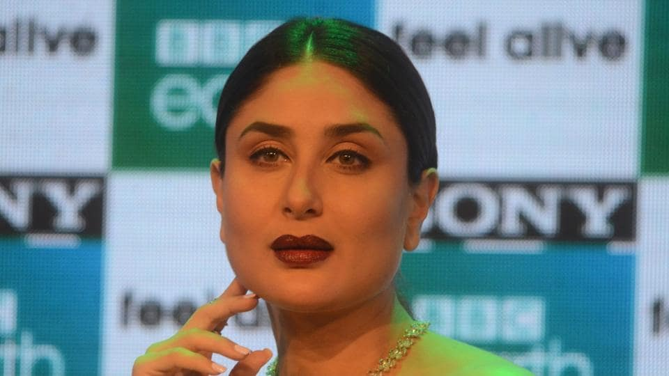 Kareena during the launch of premium factual entertainment channel Sony BBC Earth, in Mumbai on March 1.
