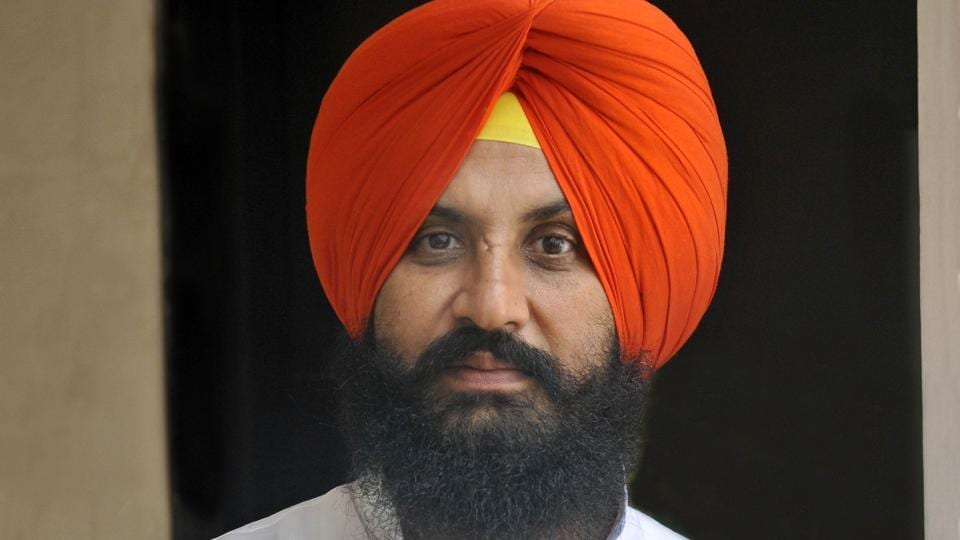 Lok Insaaf Party leader Simarjeet Singh Bains wins the Atam Nagar seat with a margin of 16,913 seats.  Congress leader Kamaljit Singh Karwal stands second. (HT File Photo)