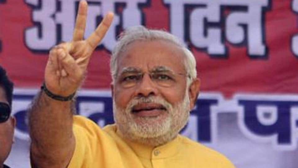 The credit for the victory in the election in Uttarakhand, as in Uttar Pradesh, is Modi's and Modi's alone