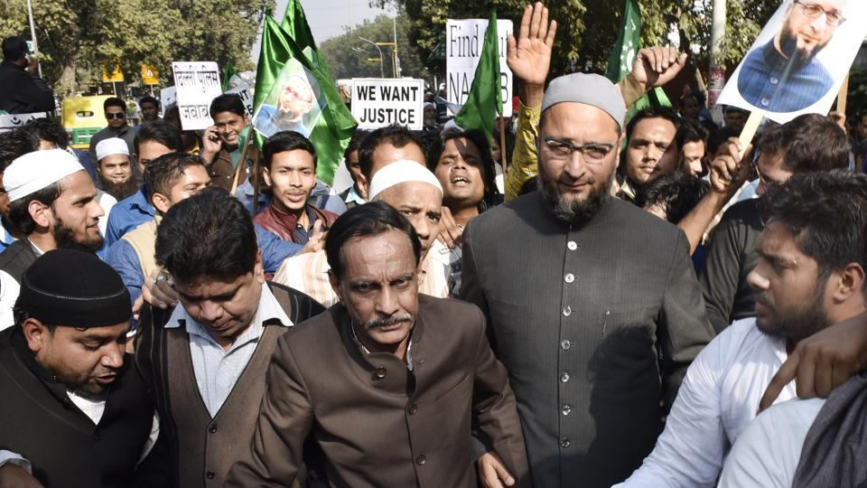 AIMIMchief Asaduddin Owaisi said the results proved that secular parties have failed the Muslims yet again and asserted that the Muslim vote bank is a myth.
