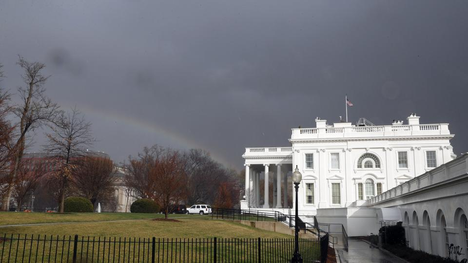 An intruder carrying a backpack entered the White House grounds on Saturday.