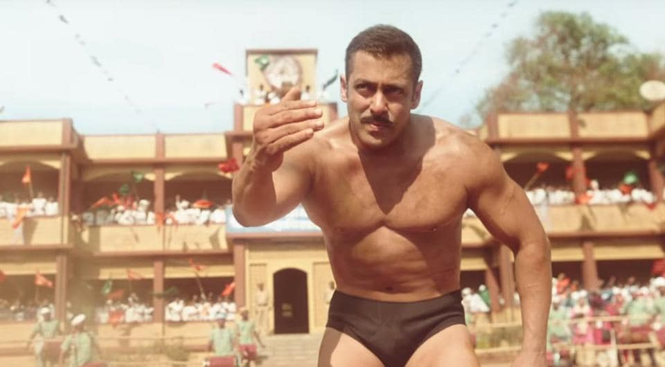 Salman Khan in a still from Sultan.