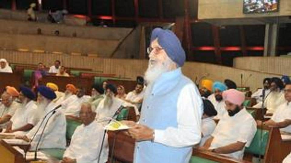 This is the first time since 1997 that Akali leader Parkash Singh Badal will not be the leader of the Opposition in the assembly.