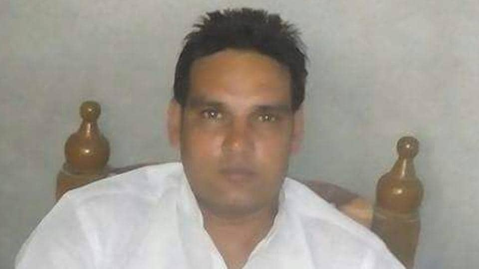 Raju alias Rajesh one of the victim killed in the shooting between truck union groups.