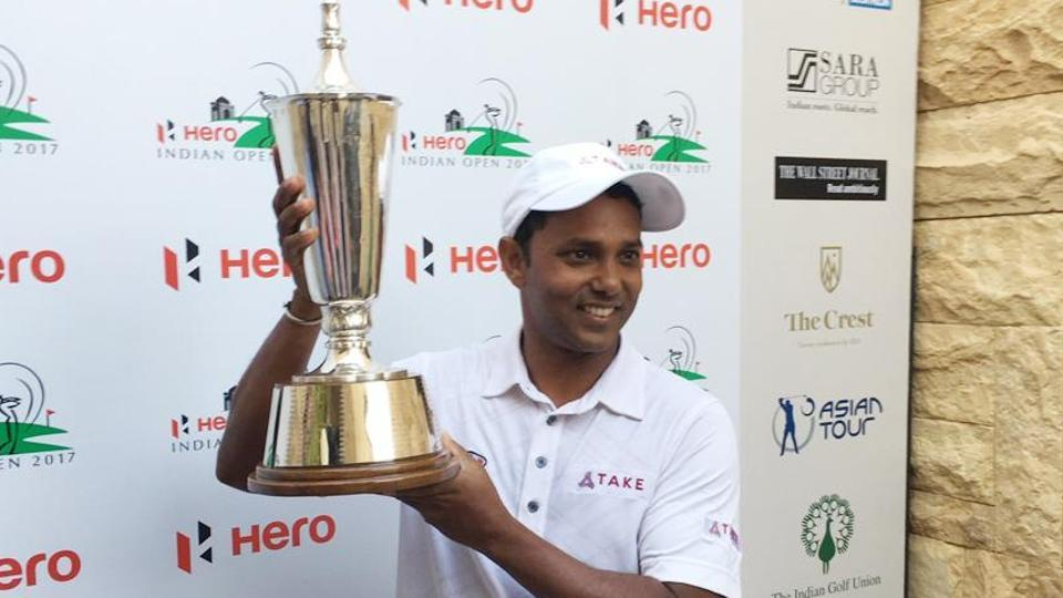 SSP Chawrasia,Indian Open,Indian open Golf