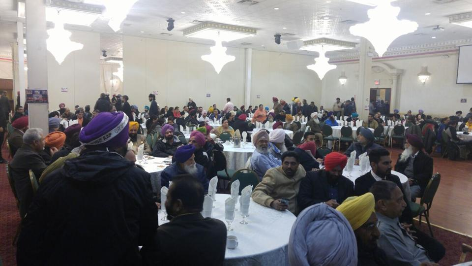 """""""The entire plan went for a toss,"""" said Mandeep Singh, a Brampton resident, who had planned to be part of the public viewing of results. But a message from his parents that AAP was not winning dissuaded him from going to the banquet hall."""