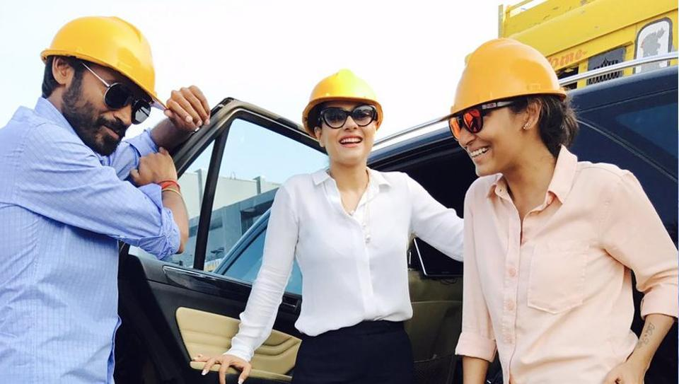 Bollywood actor Kajol completes shooting her portion for Dhanush's VIP2 | regional movies | Hindustan Times