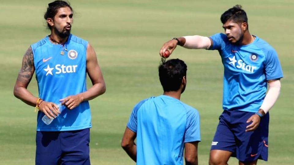 Umesh Yadav,Ishant Sharma,India vs Australia