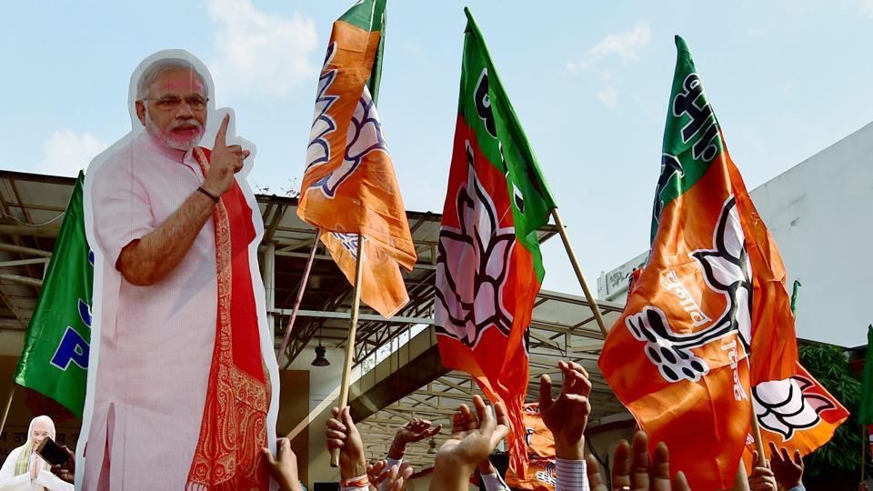 The BJP rode on Prime Minister Narendra Modi's shoulders to power in Uttar Pradesh and Uttarakhand on Saturday.