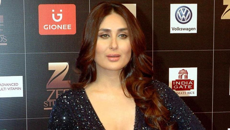 Kareena Kapoor Khan paid a tribute to three Khans of Bollywood at the Zee Cine Awards on Saturday.