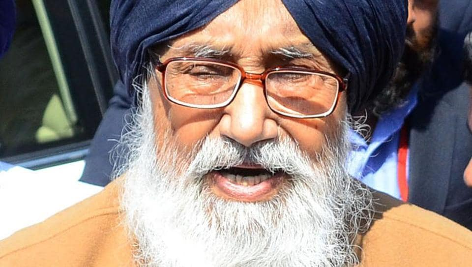 """""""We will call a meeting of the party in which we will discuss the reasons (behind the defeat in the polls),"""" Punjab chief minister Parkash Singh Badal told reporters after submitting his resignation to Punjab governor VP Singh Badnore here."""