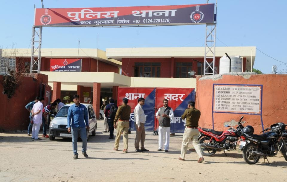 A murder case has been filed at the Sadar police station in Gurgaon.
