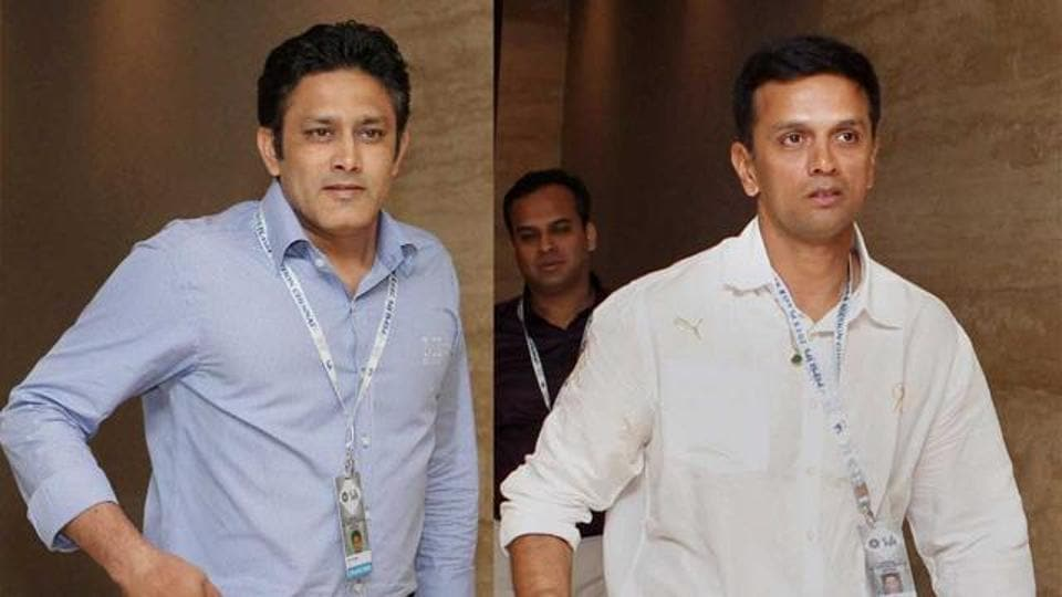 Anil Kumble could become the Indian cricket team director while Rahul Dravid could be the new coach, according to reports.