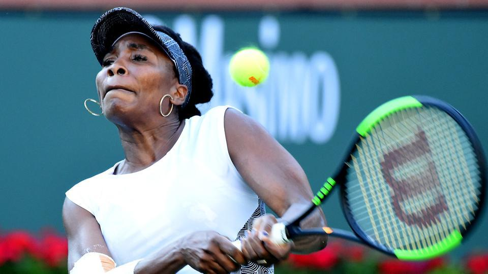 Venus Williams survived three match points as she overcame Jelena Jankovic in a tough three-set encounter to enter the third round of the Indian Wells tournament.