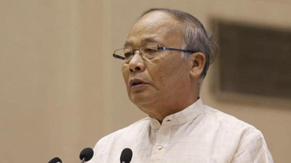 Biren sworn in, Manipur gets first BJP Govt