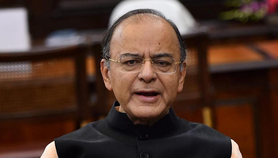 File photo of Union finance minister Arun Jaitley who has been given additional charge of the defence ministry following Manohar Parrikar's resignation.