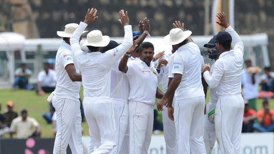Rangana Herath became the leading left-arm spinner in Test history during Sri Lanka's 259-run win against Bangladesh in Galle.