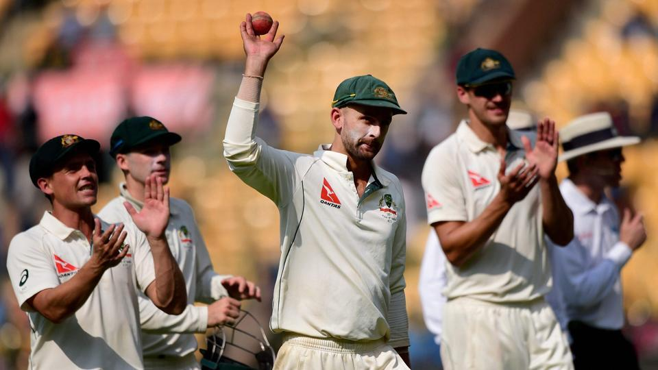 Nathan Lyon took 8/50 in the second India vs Australia Test in Bangalore.