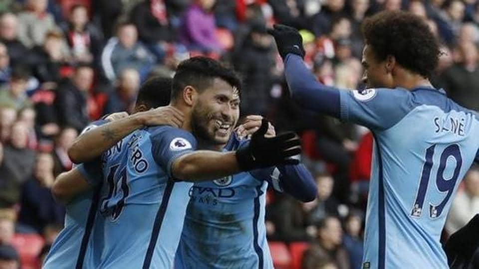 Manchester City's Sergio Aguero will be crucial in the UEFA Champions League last 16 game against Monaco.