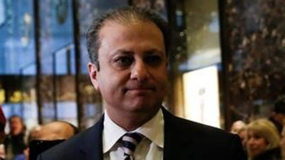 Preet Bharara, the outgoing US Attorney for the Southern District of New York.