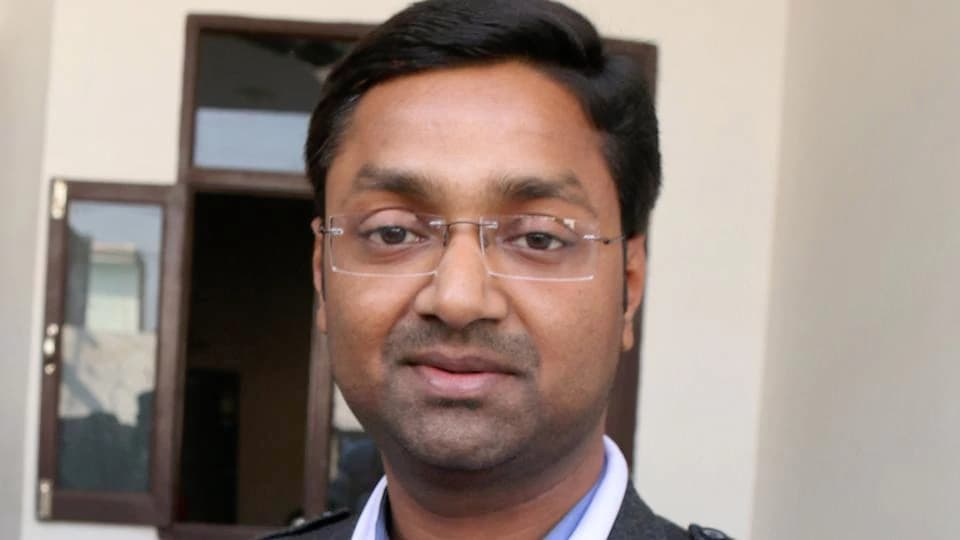 AAP's bathinda Urban candidate Deepak Bansal.