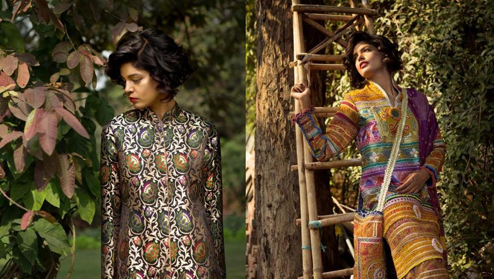 Fashion Week in Delhi kicks off on Wednesday. Madhu Jain's creations (above) will take on the runway on the opening day too.