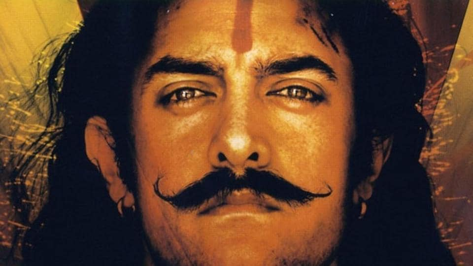 Aamir Khan in Mangal Pandey - The Rising (2005).