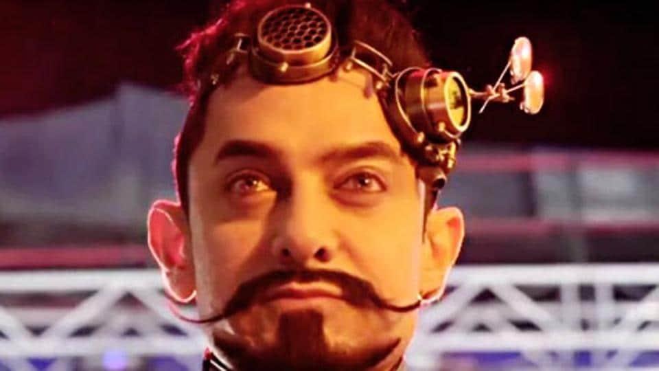 Aamir Khan's  interesting look in Secret Superstar has been the talk of the town.