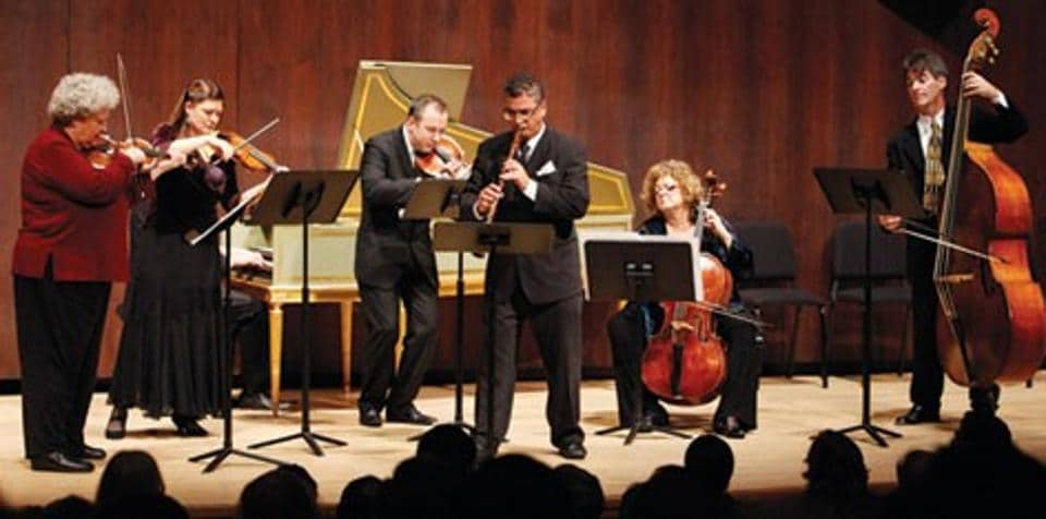 Members of the New York-based Juilliard415, which will perform in the city on Thursday.