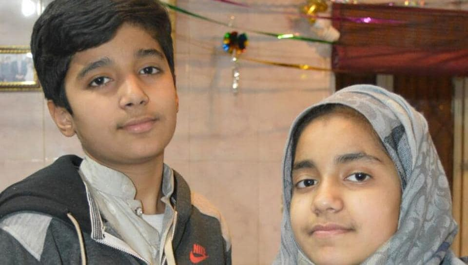 Pakistani children who penned letter to PM Modi, Pak PM Sharif to bring peace, buy books and not bullets.