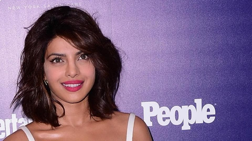 Priyanka Chopra attends the Entertainment Weekly and PEOPLE celebration of The New York Upfronts at The Highline Hotel on May 11, 2015 in New York City.