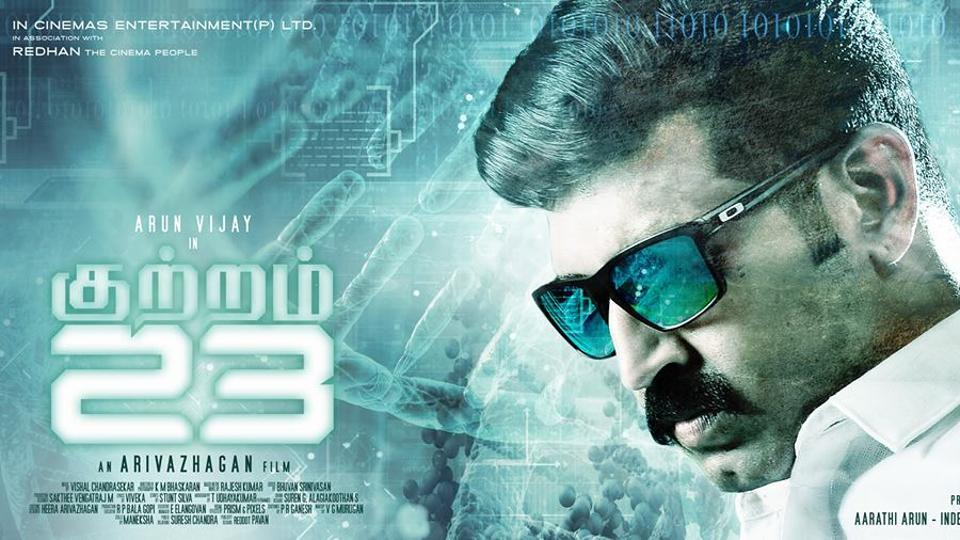 Kuttram 23 has been adapted from a novel by popular Tamil pulp fiction writer Rajesh Kumar which looks at medical crime.