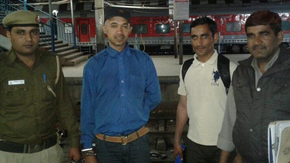 Animesh Jha was arrested at from Patna Railway Station on Tuesday.