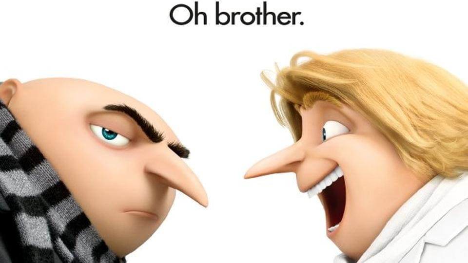 Gru has a brother!