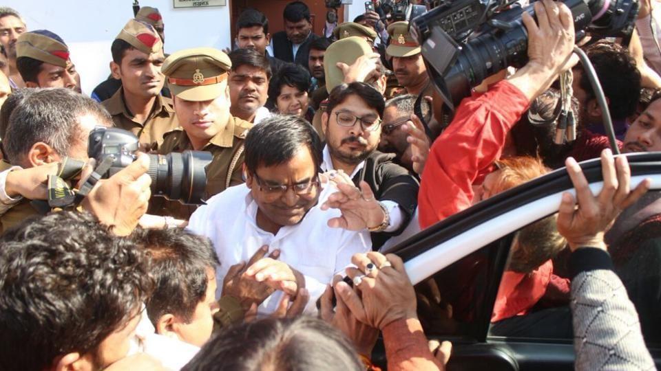 Gayatri Prajapati,UP gangrape case,Samajwadi Party
