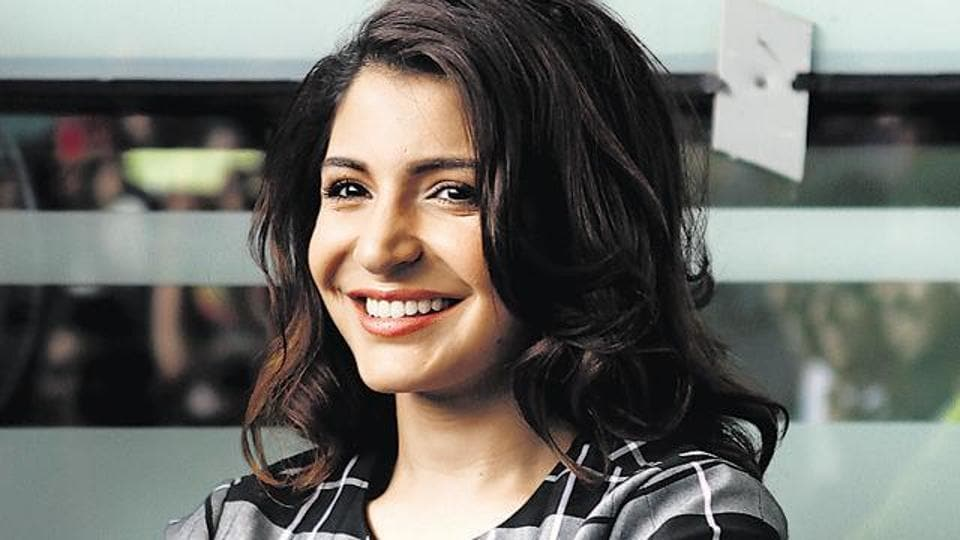"Anushka Sharma says she ""didn't grow up wanting to become an actor."""