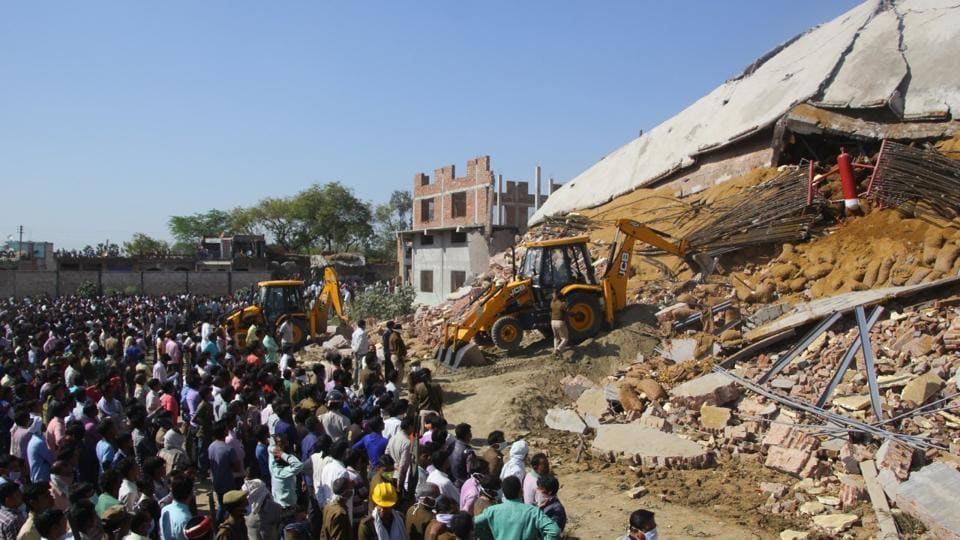 Kanpur,Building collapse,Cold storage
