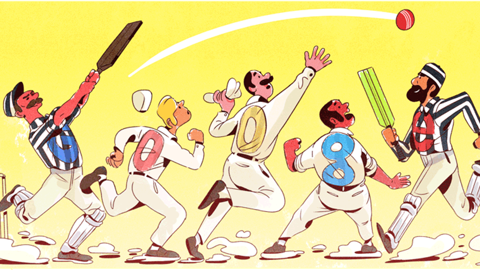 Google Doodle commemorates 140th anniversary of Test Cricket