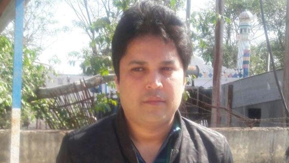 Automobile dealer Nikhil Priyadarshi.
