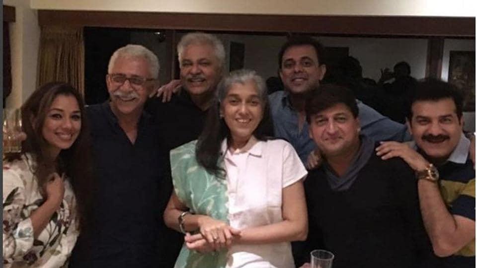 The star cast of Sarabhai vs Sarabhai went down memory lane at this reunion party.