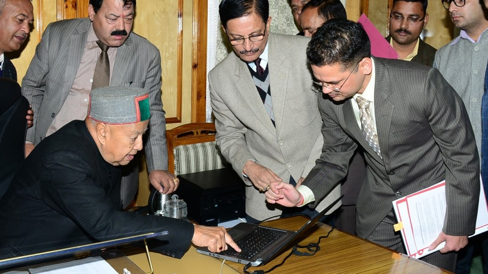 Himachal Pradesh chief minister Virbhadra Singh inaugurated the system on Wednesday in Shimla.
