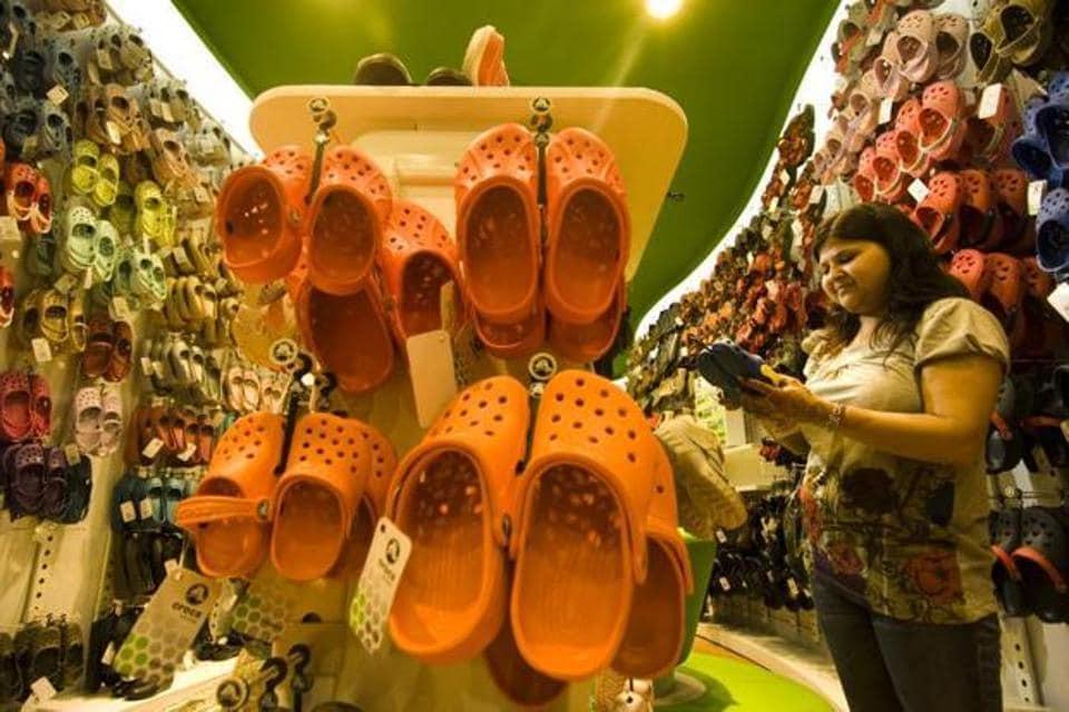 Crocs,GST,Make in India