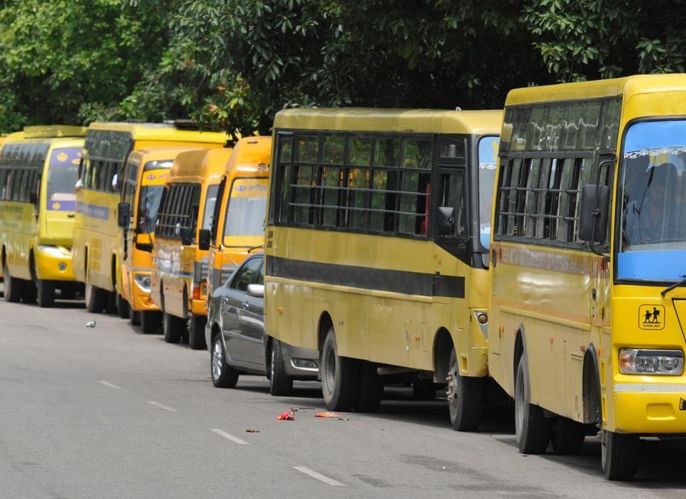 Haryana,school buses for political rallies,Haryana bans use