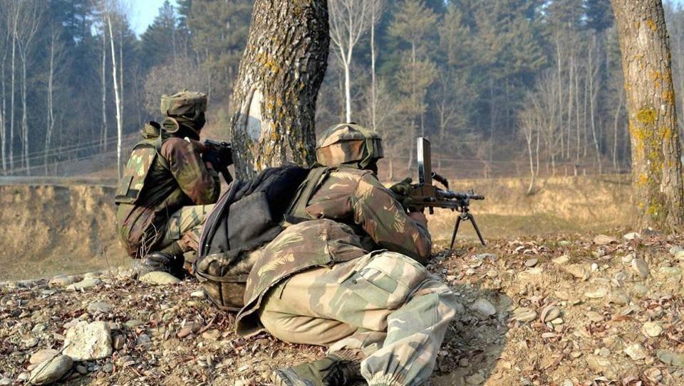Jammu and Kashmir,Gunfight,Indian Army