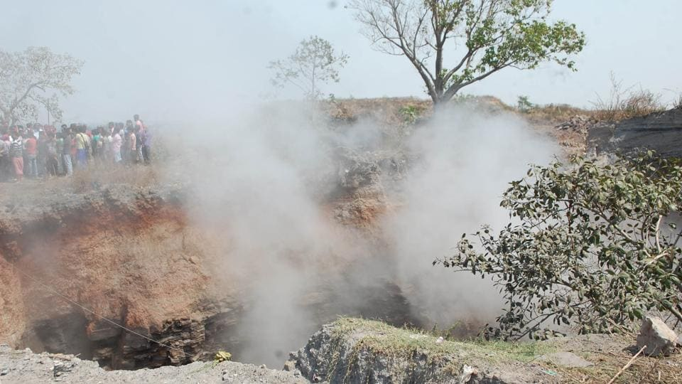 Jharia,Fire,Subsidence