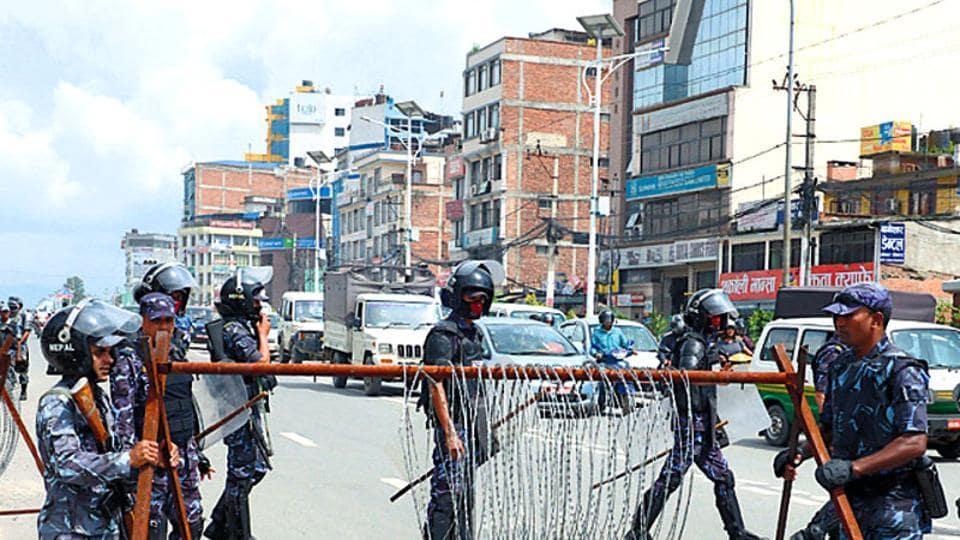 Neapl,Madhesi Morcha,Prime Minister Pushpa Kamal Dahal Prachanda