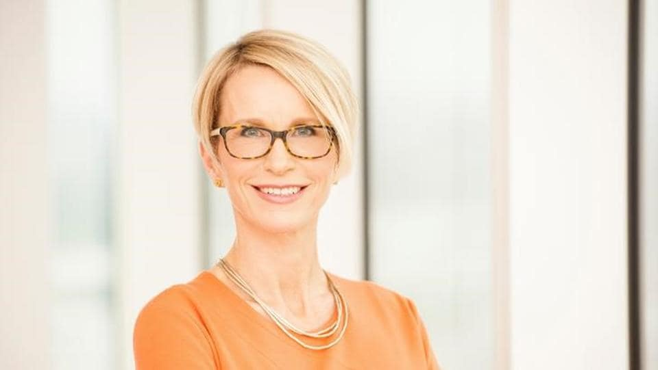 Emma Walmsley, CEO Designate of GlaxoSmithKline is seen in this undated photograph released in London, Britain, on February 1, 2017.
