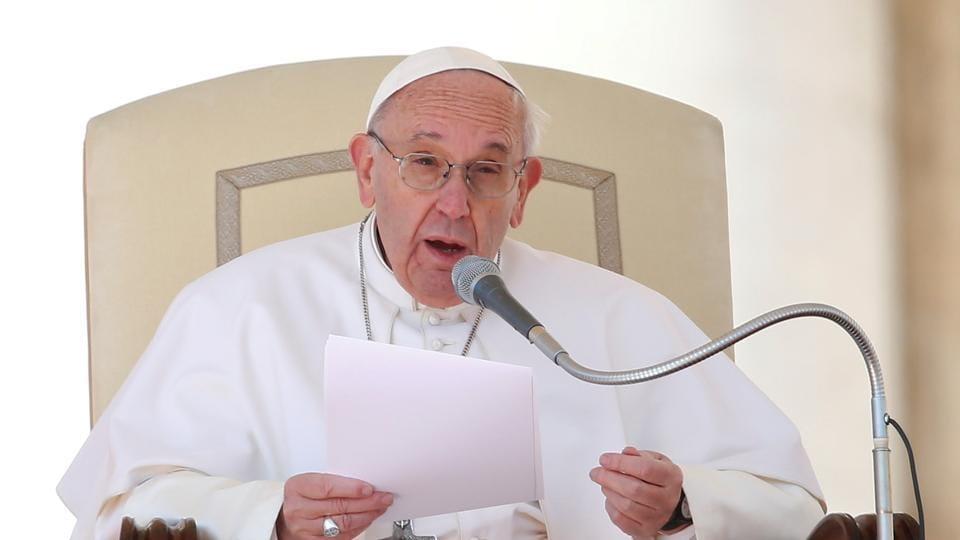 Pope Francis,Pope on jobs,Sky Italia